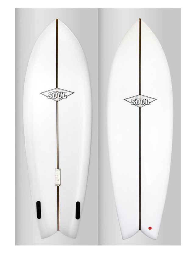 Soul Surfboards Speed Fish 5'7