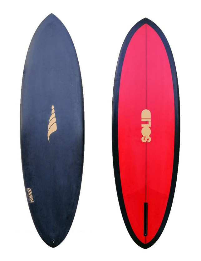 Solid Surfboards The Bachelor 6'0
