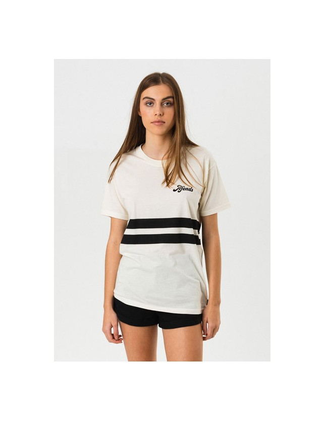 Afends Boyfriend Fit Tee White