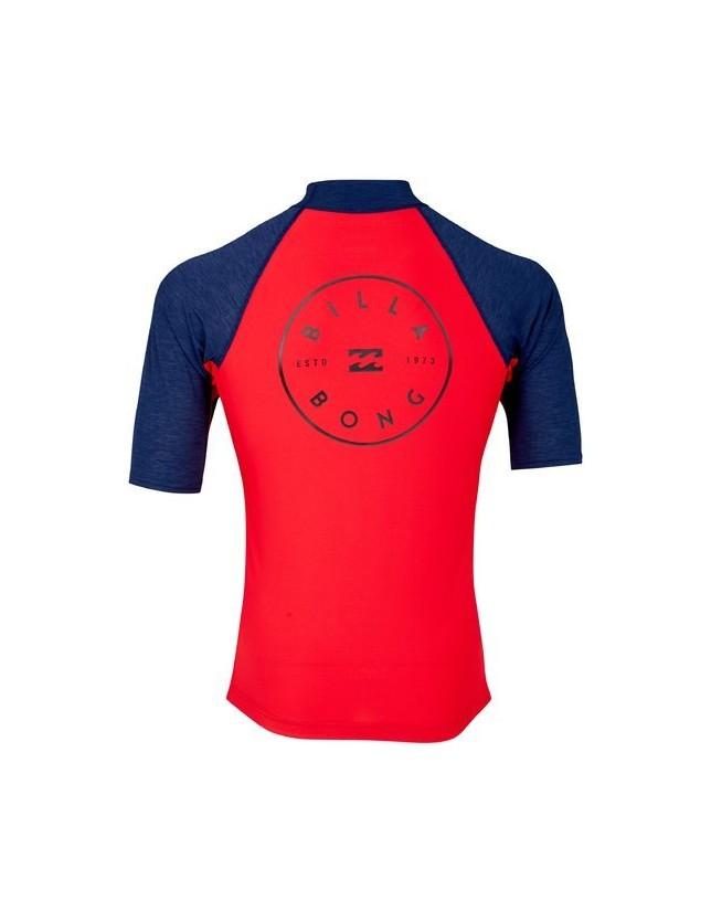 Billabong t-shirt Rotohand Red