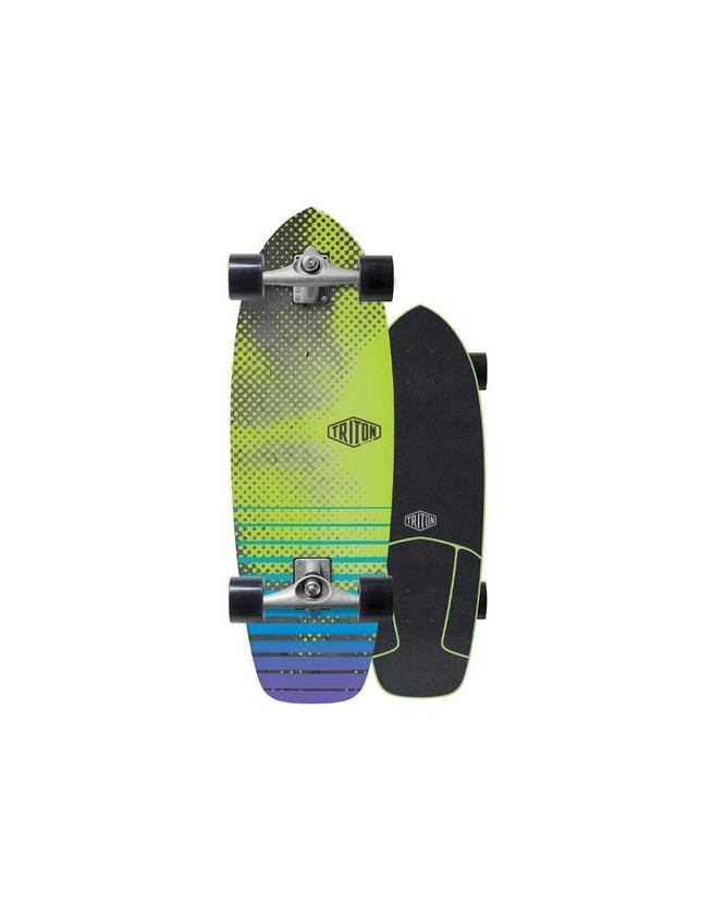 """Triton Carver Xenon 29"""" Surfskate Completo"""