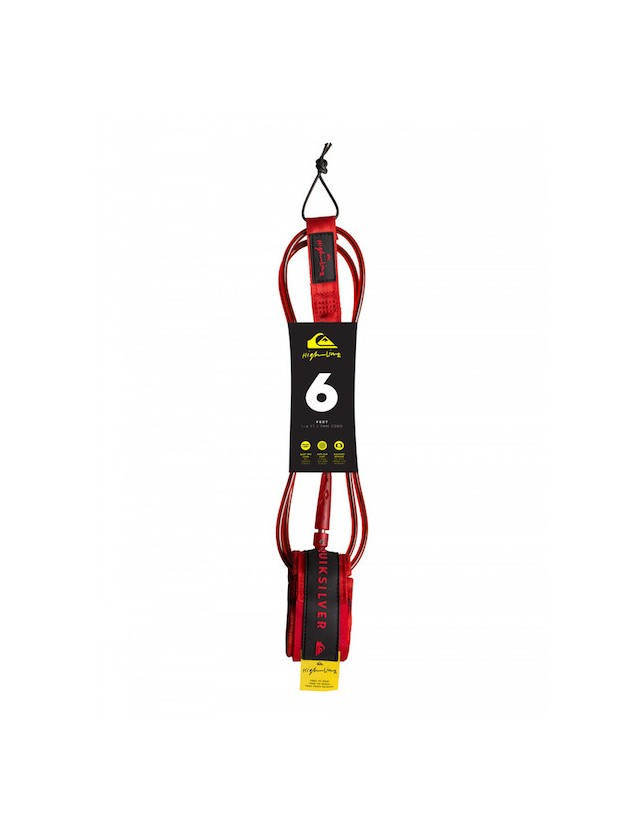 Quiksilver Leash HighLine 6'0 Rosso