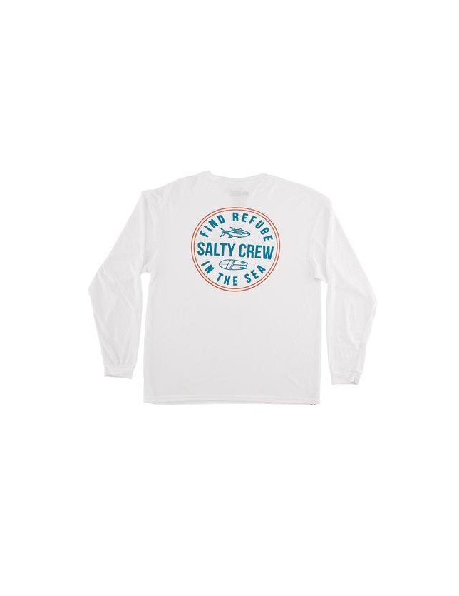 Salty Crew Twin Fin Tech Tee L/s