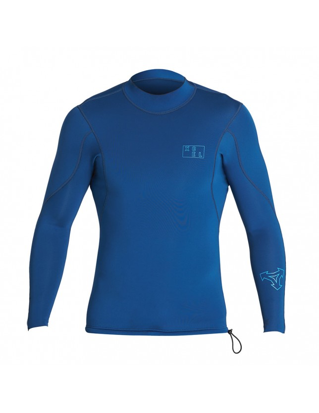 Xcel 2/1mm Long Sleeve Wetsuit Top Blue