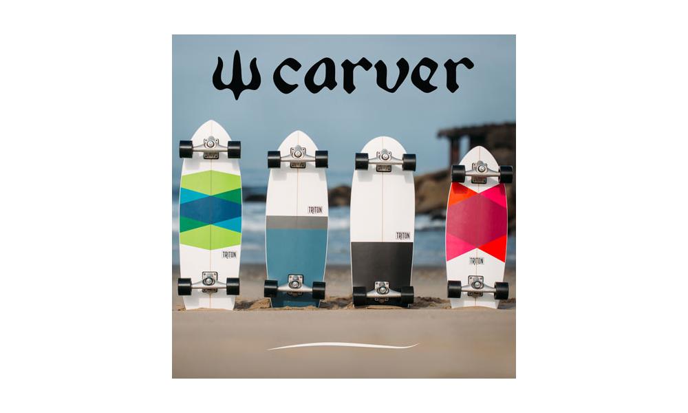 Novità Carver 2018 Trtion Skateboards for Carver