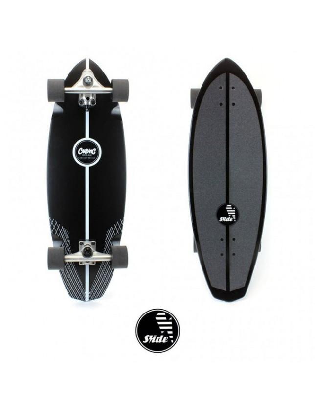 "Slide Surfskate Diamond 32"" Limited Edition Nero"