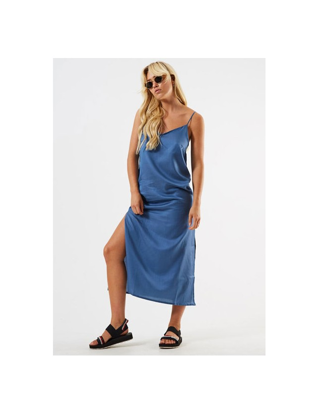 Afends Dana Silk Hemp Slip Dress