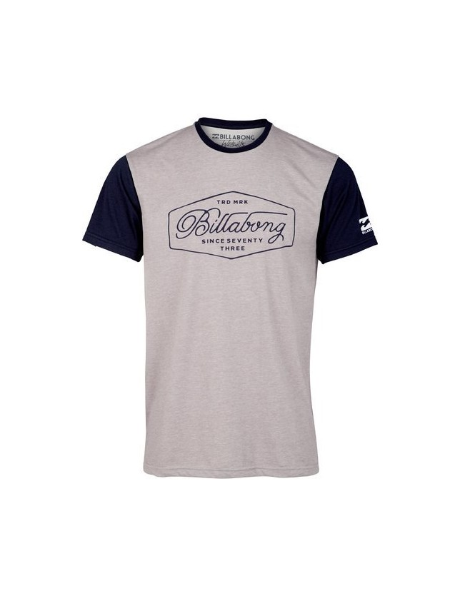 Billabong T-shirt Trademark Grey