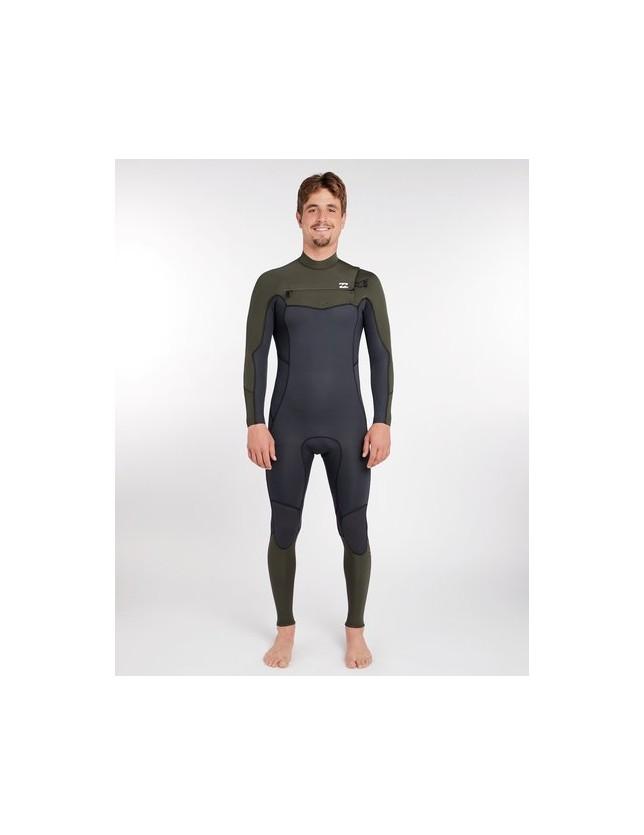 Billabong Wetsuits 3/2 Furnace GBS Chest Zip