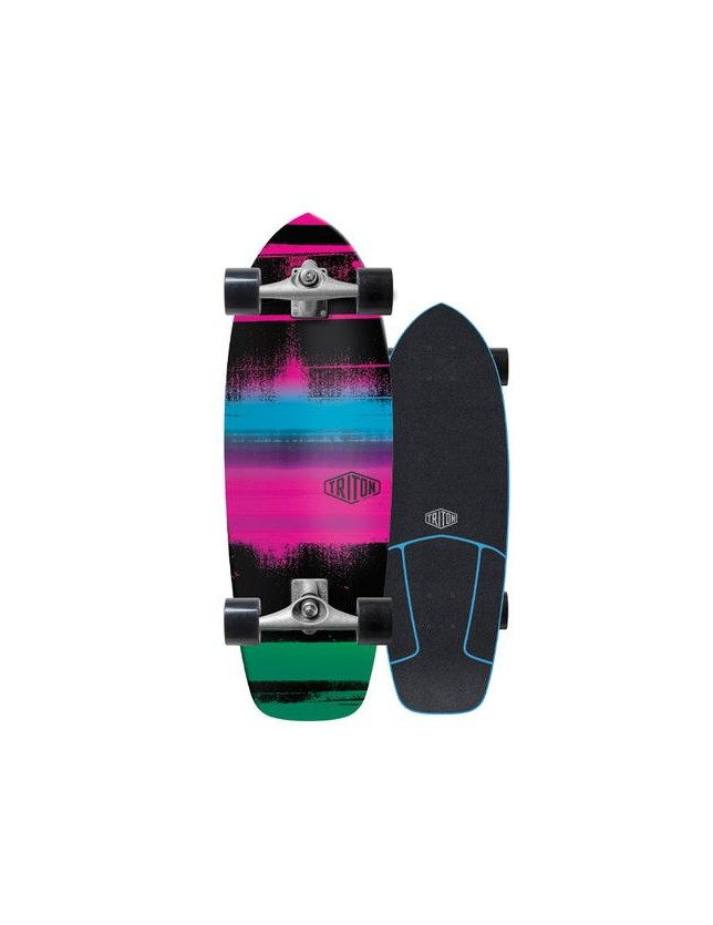 "Triton Carver 28"" Nitron Surfskate Complete"