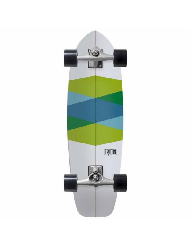Surfskate Triton Carver Green Glass 32,5""