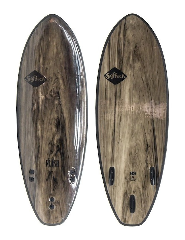Softech Flash 5'7 Black Marble