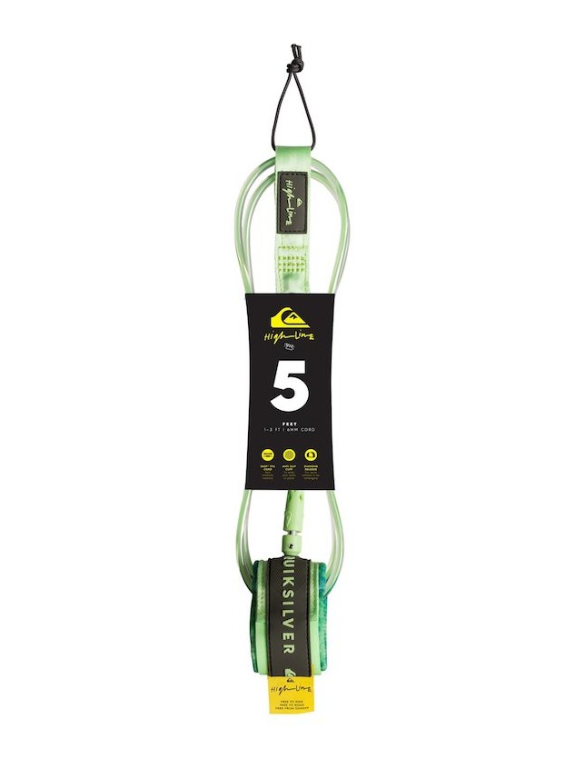 Quiksilver Leash HighLine 5'0 Green