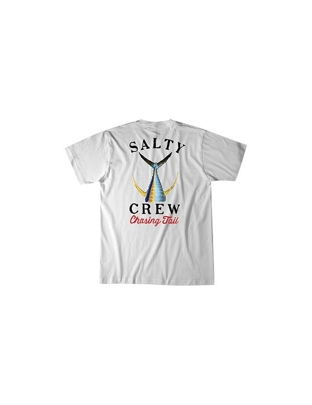 Salty Crew T-shirt Tailed bianca