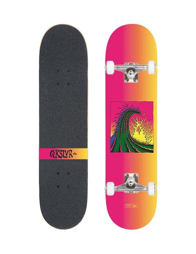 Quiksilver Complete Skateboard Kanagawa 8'