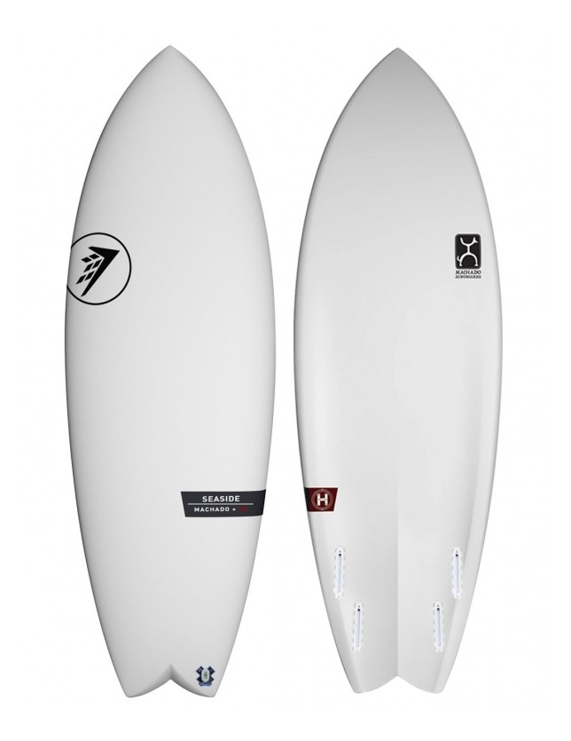 "Firewire Seaside 5'4 x 20 5/8 x 2 7/16"" (29.8 litres volume)."