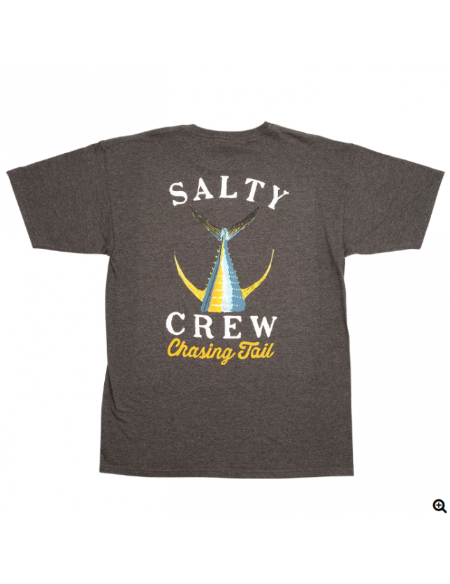 Salty Crew T-shirt Tailed Charcoal Heather