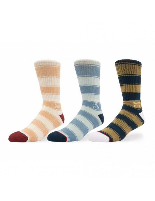 Salty Crew Hardbor Sock 3 Pk