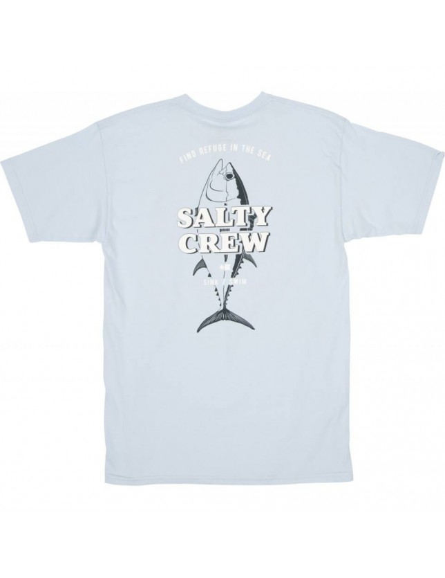 Salty Crew T-shirt Up N Down Light Blue