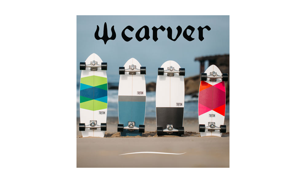 Novità Carver 2018 Trtion Skateboards for Carver